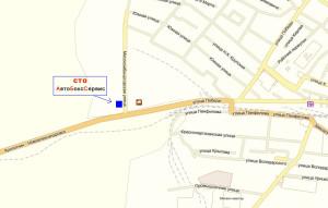 Схема местоположения